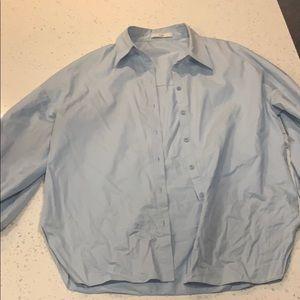 Tibi Shirt with Tibi Belt